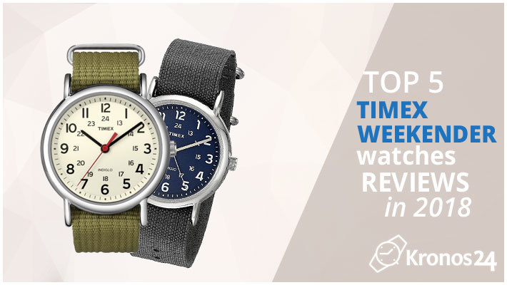 b46463d4df9b Top 5 Timex Weekender Watches Reviews in 2018